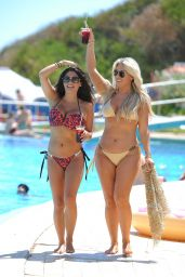 Casey Batchelor and Frankie Essex Bikini Pics - Holiday in Spain 09/12/2017