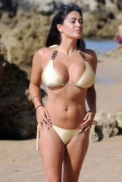 Casey Batchelor Hot in Bikini - Enjoying a Holiday in Spain 09/09/2017