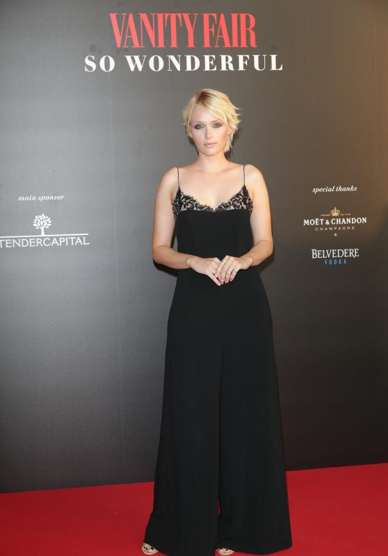 Caterina Shulha – Vanity Fair So Wonderful Party at the Venice Film Festival 08/31/2017