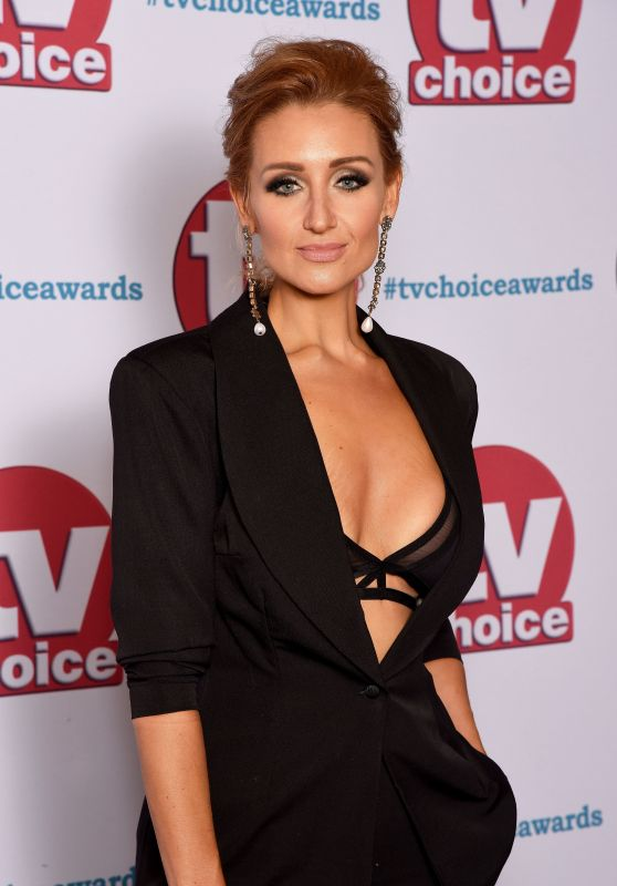 Catherine Tyldesley – 2017 TV Choice Awards in London