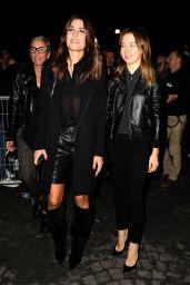 Charlotte Casiraghi – Saint Laurent Fashion Show in Paris 09/26/2017