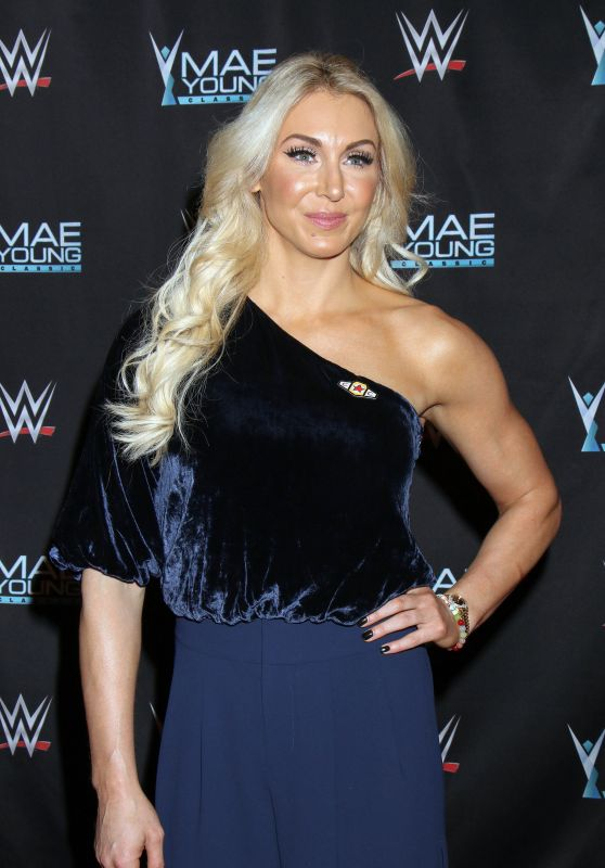 "Charlotte Flair – WWE Presents ""Mae Young Classic Finale"" in Las Vegas 09/12/2017"