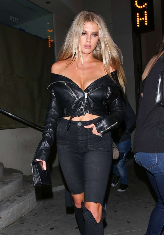 Charlotte McKinney Night Out Style - West Hollywood 09/19/2017