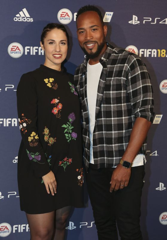 "Charlotte Namura – ""FIFA 2018"" Game Launch Party in Paris 09/25/2017"