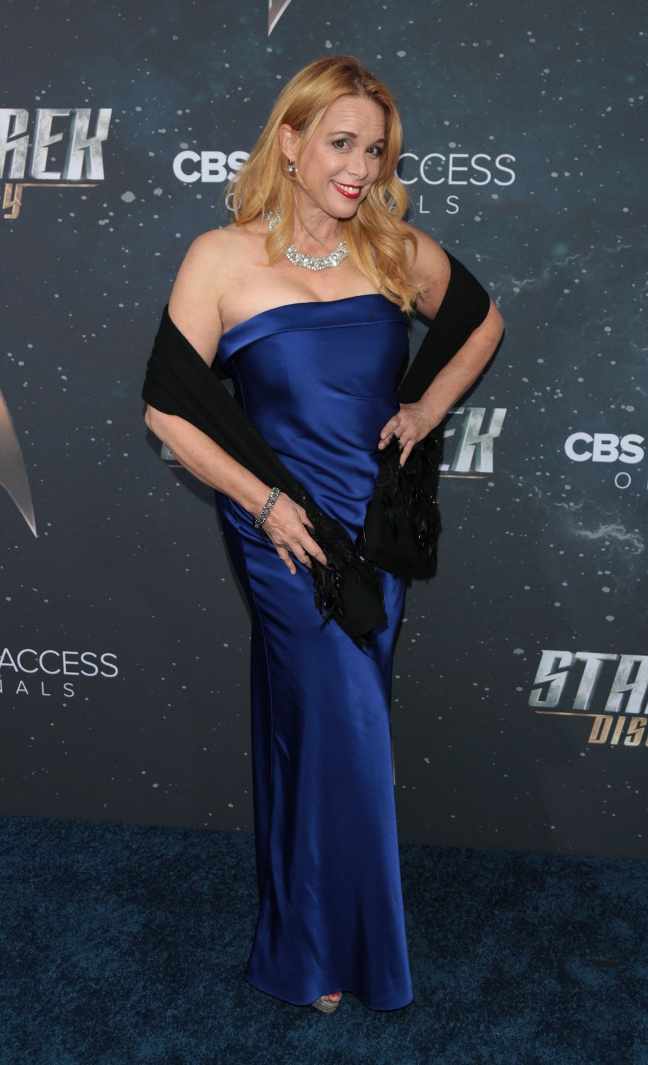 """Chase Masterson - """"Star Trek: Discovery"""" TV Show Premiere ..."""