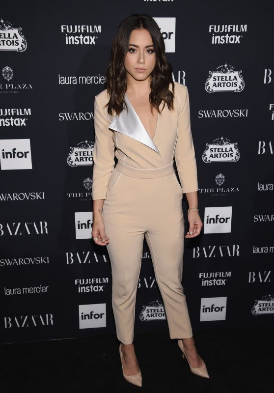 Chloe Bennet – Harper's Bazaar ICONS Party at NYFW 09/08/2017