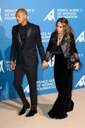 Chloe Green and Jeremy Meeks – Monte Carlo Gala for the Global Ocean, Monaco 09/28/2017