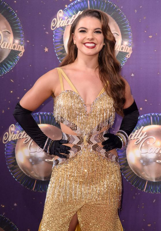 """Chloe Hewitt – """"Strictly Come Dancing"""" Launch in London 08/28/2017"""