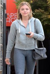 Chloe Moretz - Leaving a Hair Salon in LA 09/01/2017