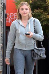 Chloe Moretz - Leaving a Hair Salon in LA 09/01/2017