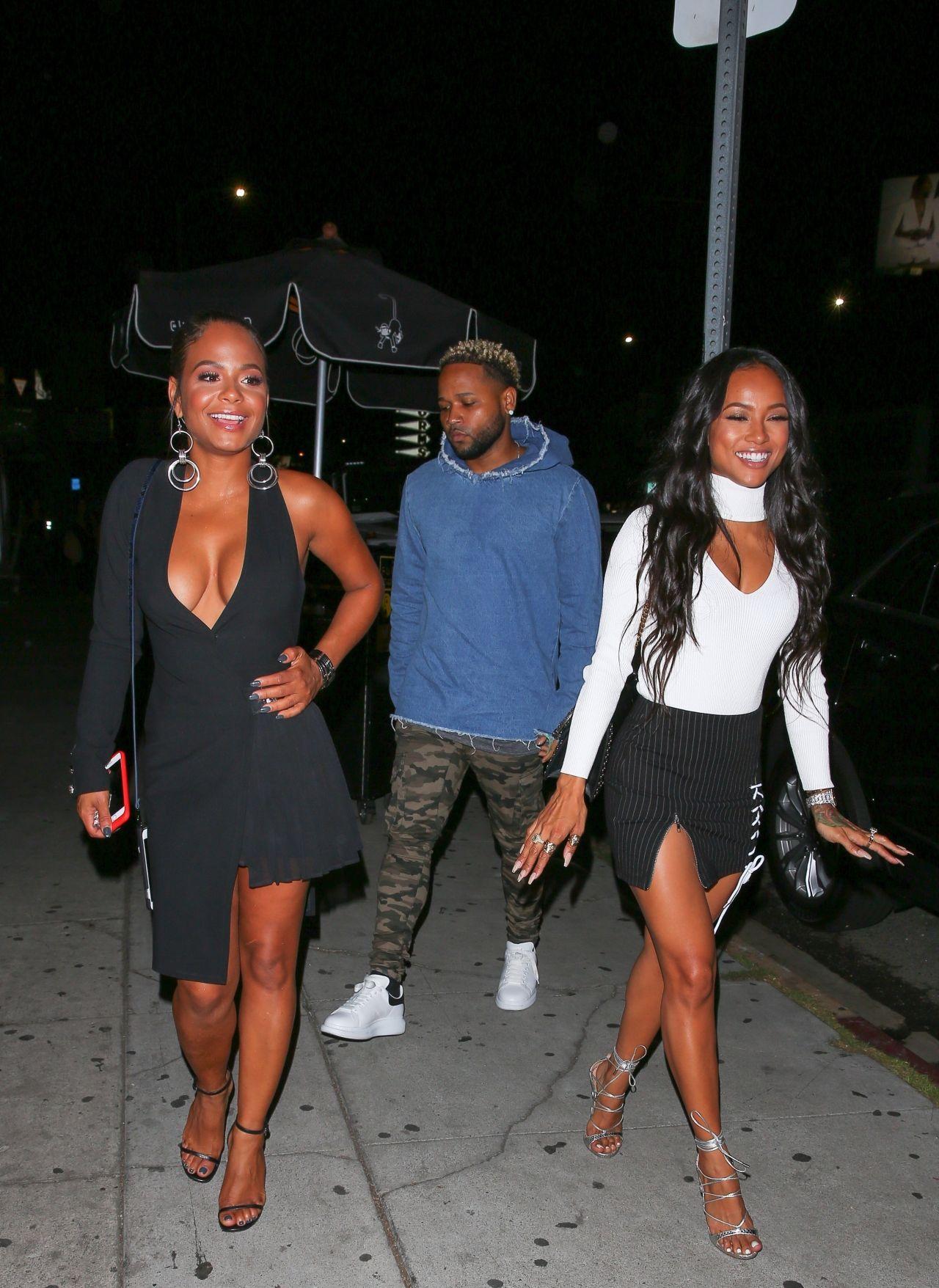 Christina Milian - Nice Guy Nightclub in West Hollywood 09/05/2017
