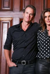 Cindy Crawford – Marc Jacobs Fashion Show in New York 09/13/2017