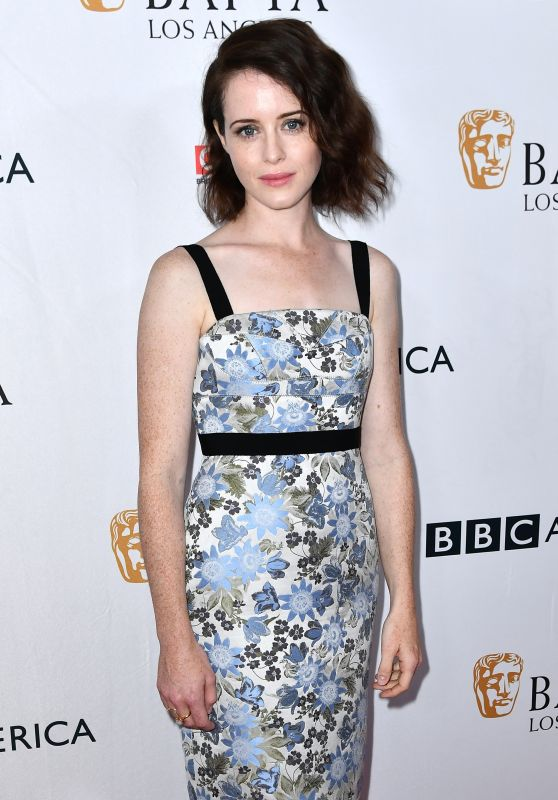 Claire Foy – BAFTA Tea Party in Los Angeles 09/16/2017