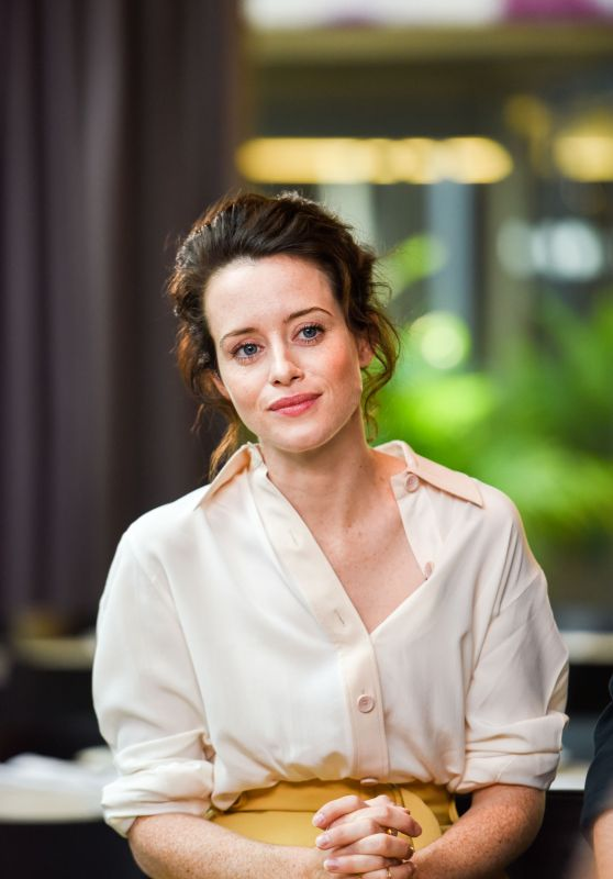 Claire Foy – Variety Studio at TIFF in Toronto 09/12/2017