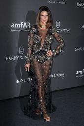 Claudia Galanti – amfAR Gala Milano Red Carpet in Milan, Italy 09/21/2017