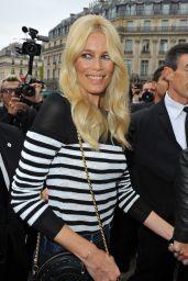 Claudia Schiffer – Balmain Fashion Show in Paris 09/28/2017