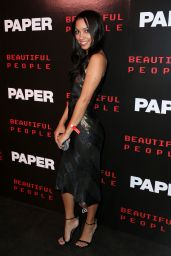 Corinne Foxx – Paper Magazine Beautiful People Issue Release Party in NYC 09/11/2017