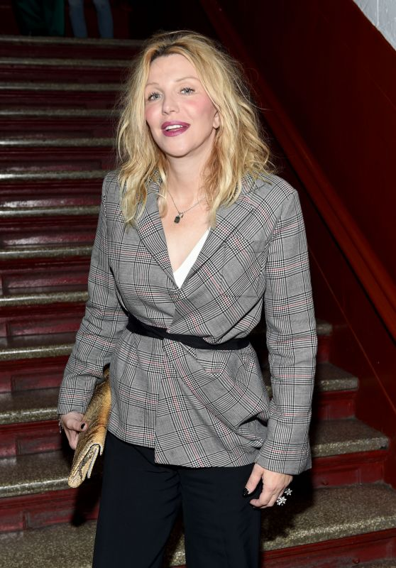 Courtney Love – Front Row at Opening Ceremony RTW Spring 2018 – NYFW 09/10/2017