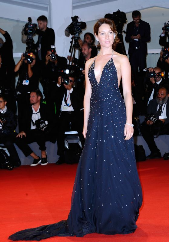 "Cristiana Capotondi - ""Three Billboards Outside Ebbing, Missouri"" Premiere at Venice Festival 09/05/2017"