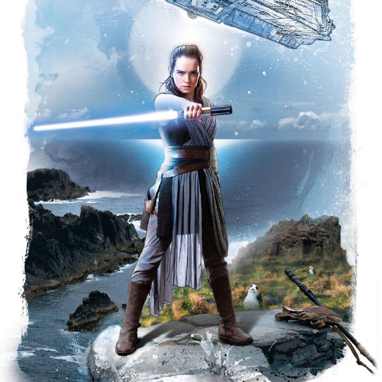 Daisy Ridley, la nueva estrella de Star Wars: Rey no está