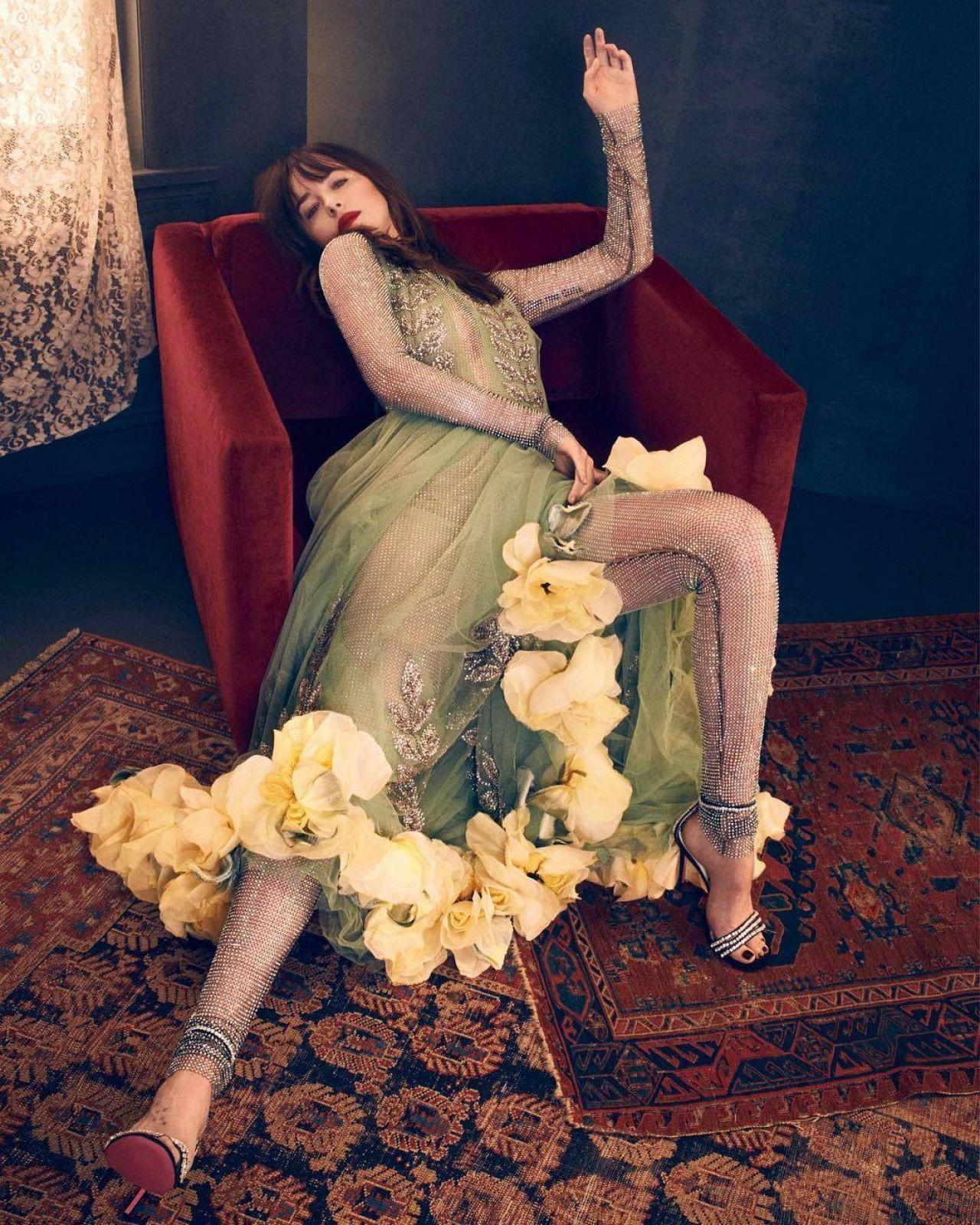 Dakota Johnson Photographed For Vogue Spain 2017