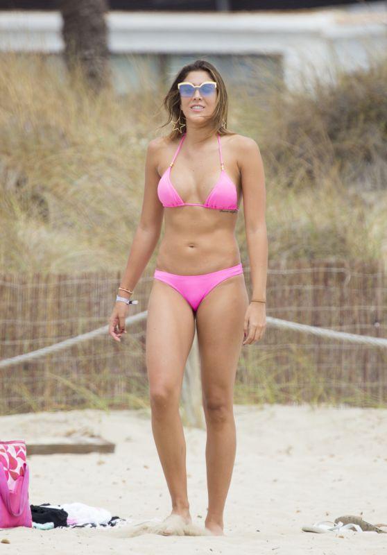 Daniela Ospina & Jessica Sterling Bikini Pics - Beach in Ibiza 08/28/2017