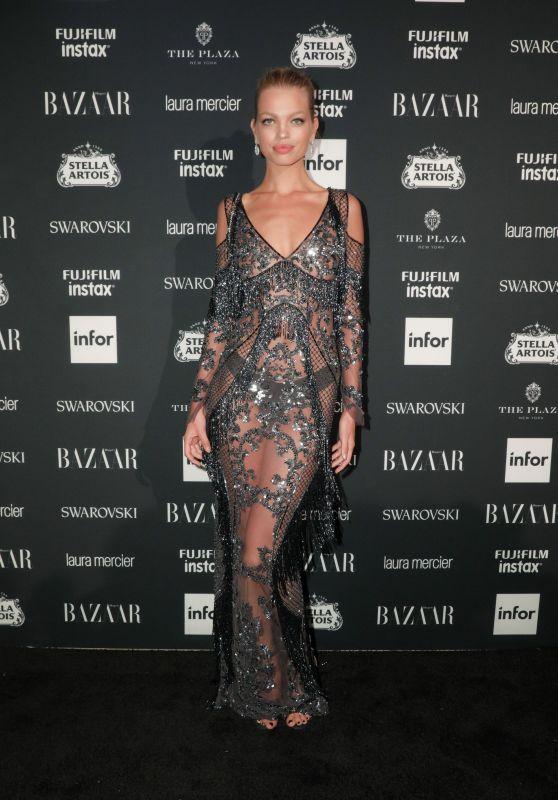 Daphne Groeneveld – Harper's Bazaar ICONS Party in New York 09/08/2017