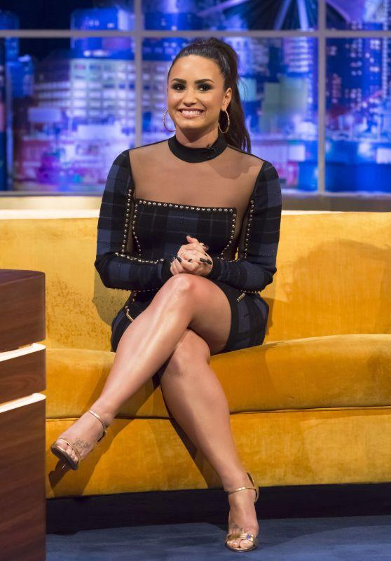 Demi Lovato - The Jonathan Ross Show in London 09/28/2017