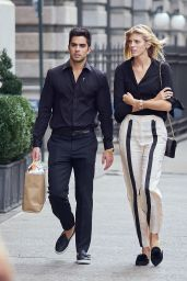 Devon Windsor With Her Boyfriend Johnny Dex - NYC 09/20/2017