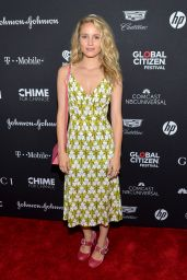 Dianna Agron -  Global Citizen Festival  VIP Lounge at Central Park, NYC 09/23/2017