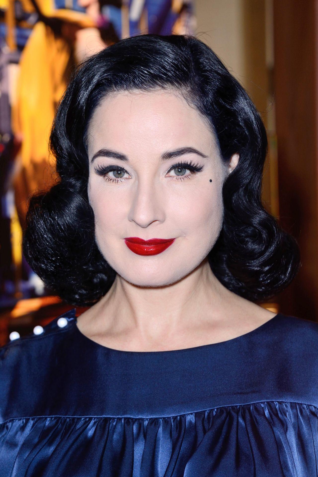 Dita Von Teese - Glamorama Celebrities by Ali Mahdavi ... Dita Von Teese