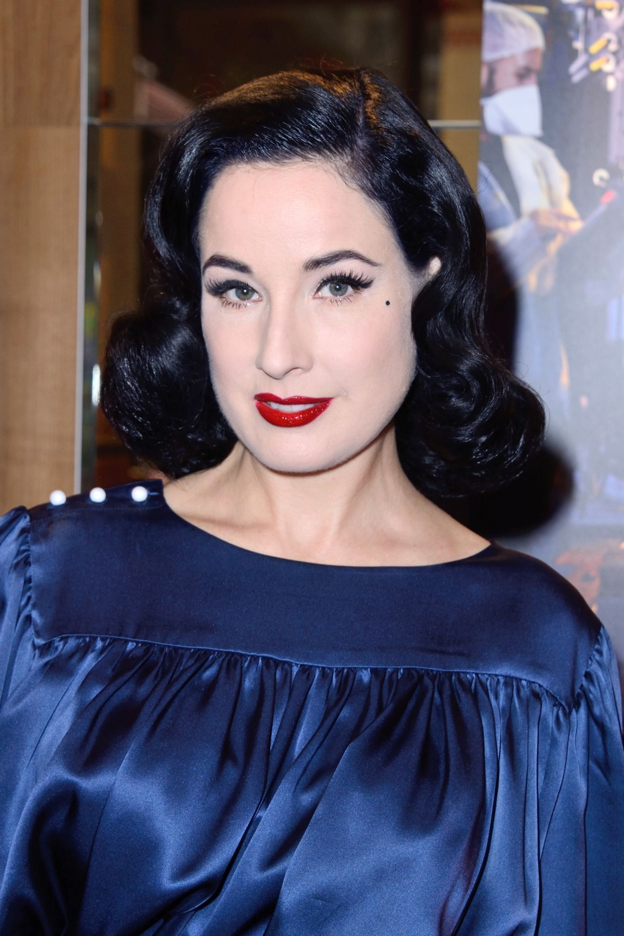28ecb9e60b45 Dita Von Teese – Glamorama Celebrities by Ali Mahdavi Photo Exhibition in  Paris 09 25 2017