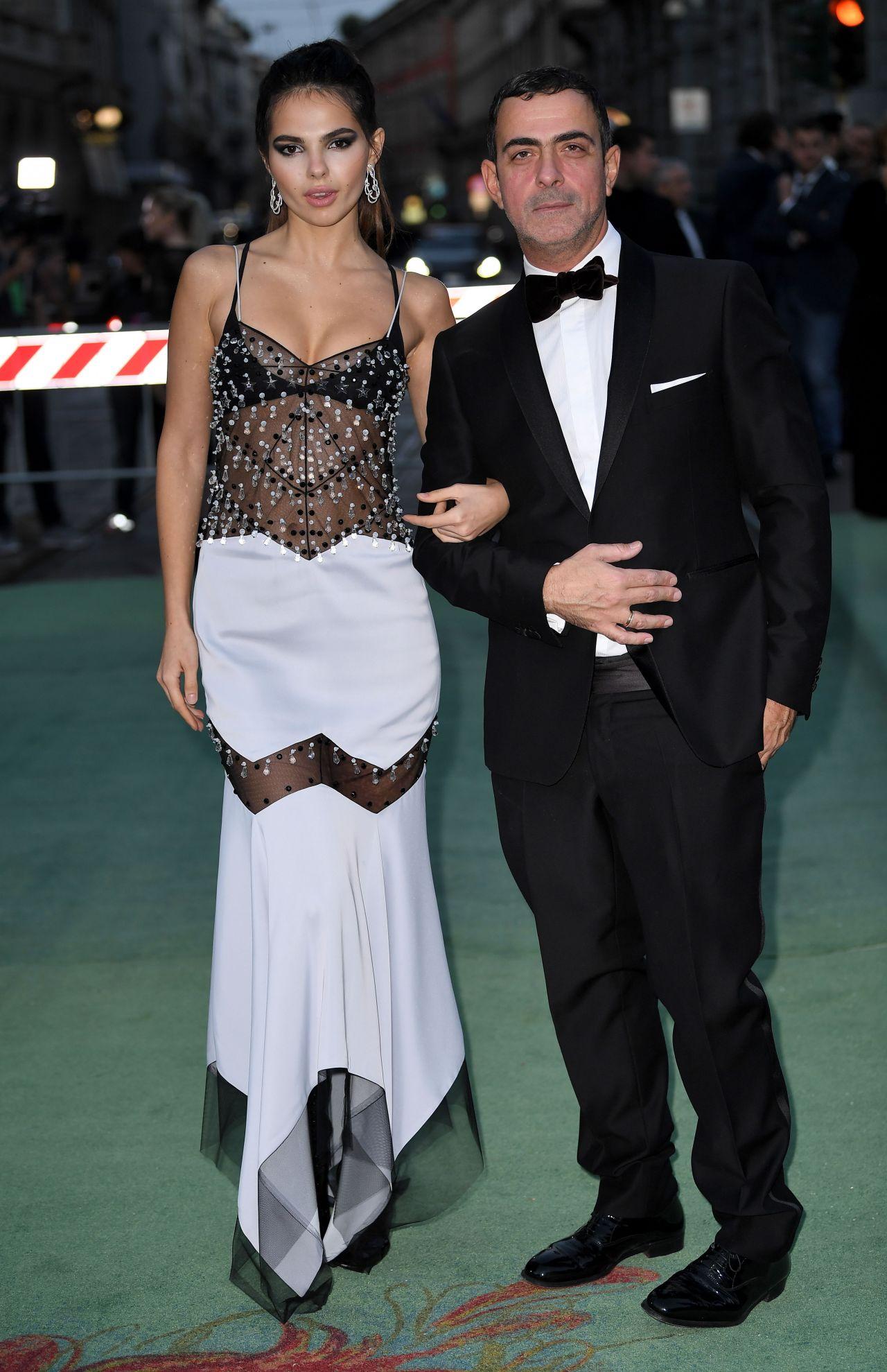 Doina Ciobanu – Green Carpet Fashion Awards, Italia 2017