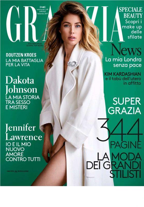 Doutzen Kroes - Grazia Italia September 2017 Issue