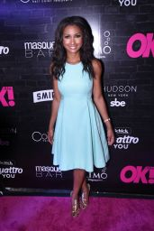 Eboni Williams – OK! Magazine's Fall Fashion Week Event in New York 09/13/2017