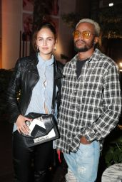 Elena Carriere - Rochambeau + Aaron Curry Party in Paris 09/27/2017