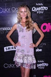 Elena Kurnosova – OK! Magazine's Fall Fashion Week Event in New York 09/13/2017