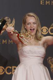 Elisabeth Moss – Emmy Awards in Los Angeles 09/17/2017