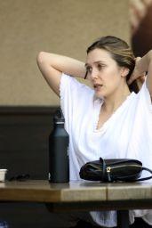 Elizabeth Olsen at Erewhon Natural Foods in LA 09/22/2017