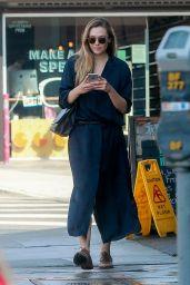 Elizabeth Olsen Checks Messages - West Hollywood 08/29/2017