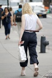 Elle Fanning - Out in NYC 09/21/2017