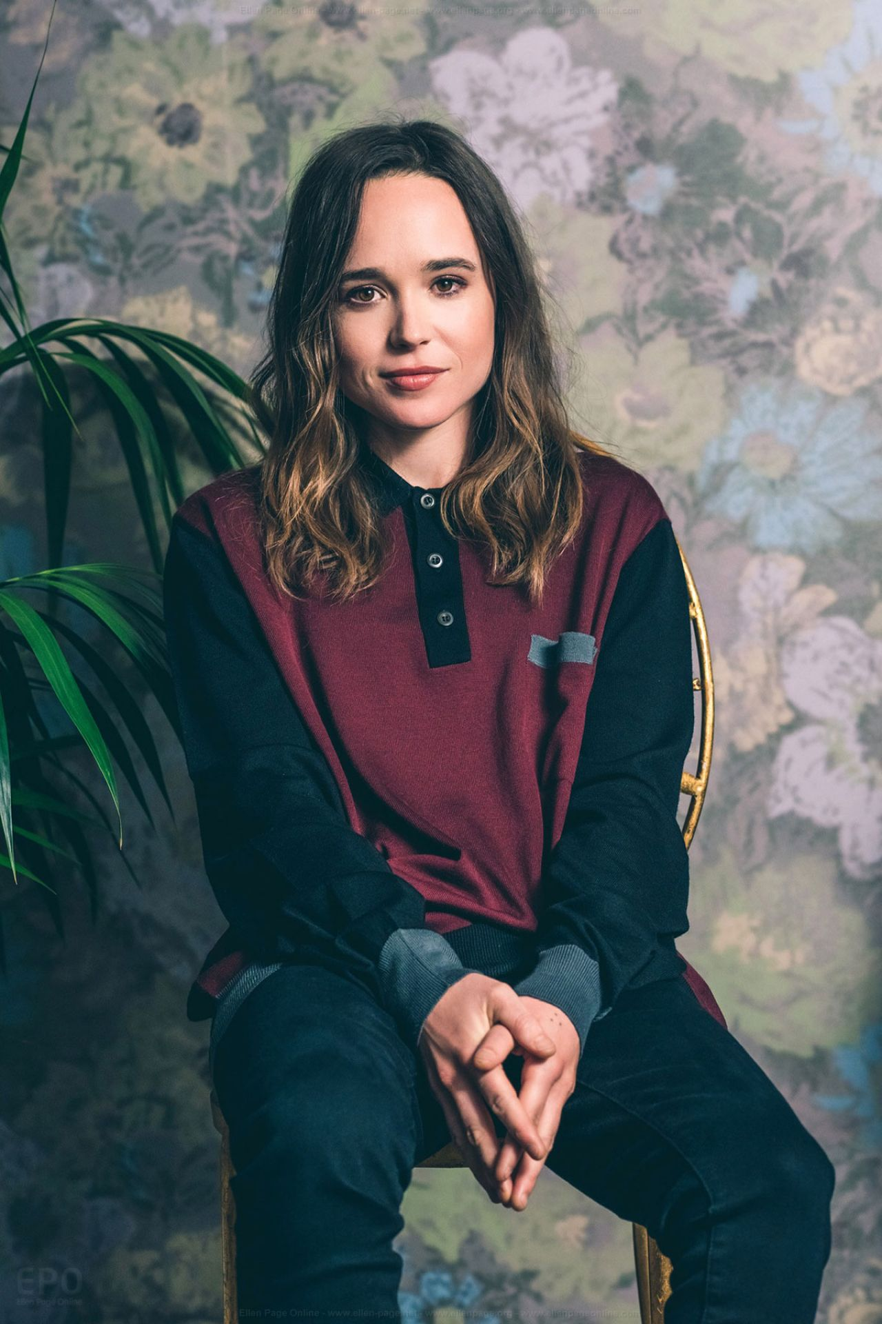 Ellen Page W Magazine Tiff Portrait Session 2017