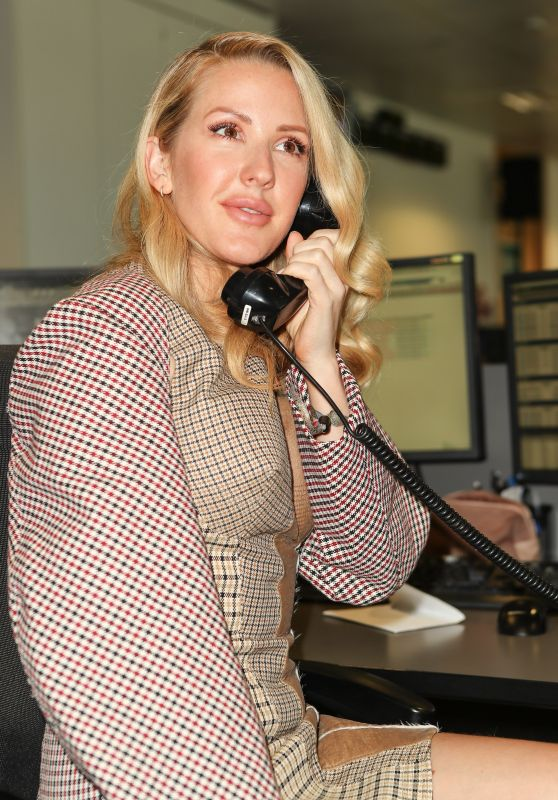 Ellie Goulding – BGC Charity Day in London 09/11/2017