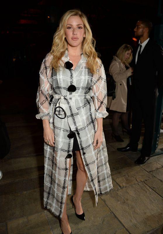Ellie Goulding – Emporio Armani Show in London 09/17/2017
