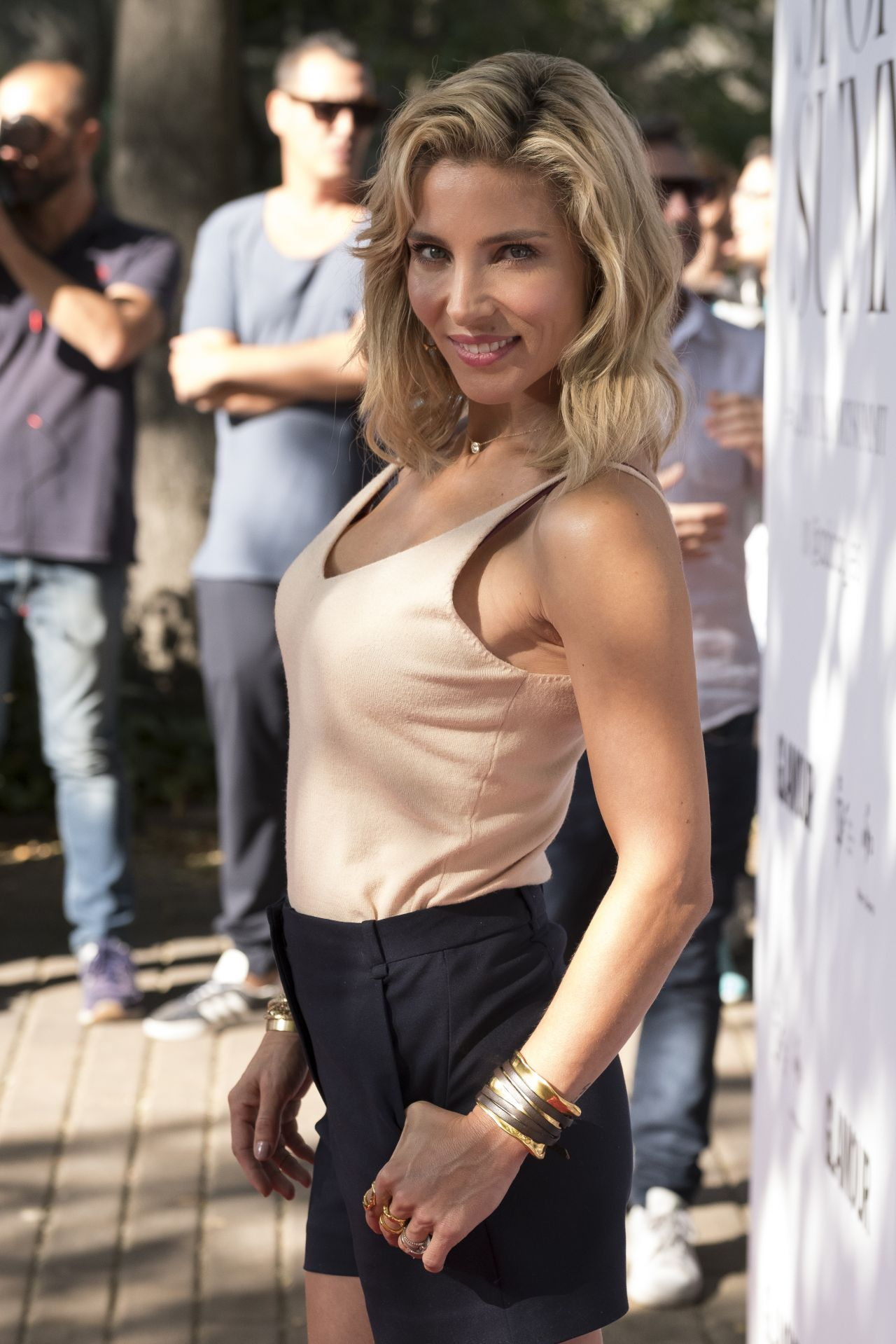 Elsa Pataky Glamour Sport Summit In Madrid 09 23 2017