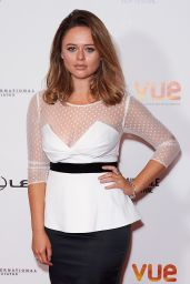 Emily Atack – Raindance Film Festival Opening Gala in London, UK 09/20/2017