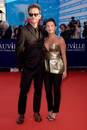 Emma de Caunes – Deauville American Film Festival Opening Ceremony 09/01/2017