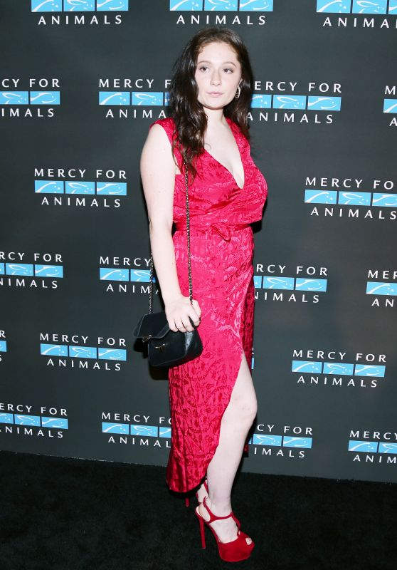 Emma Kenney - Mercy For Animals Annual Hidden Heroes Gala in New York 09/23/2017