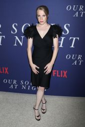 "Emma Myles – ""Our Souls at Night"" Premiere in New York 09/27/2017"