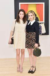 Emma Roberts - Chloe x MOCA Dinner in Los Angeles 09/19/2017